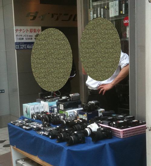 秋葉原駅(末広町駅)付近の中古カメラ店