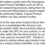 Amazon輸出の商品UPCコード問題をどうするか?