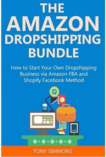 在庫を持つ必要がない「ドロップシッピング」という手法を紹介している書籍