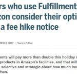 Amazon FBAの手数料値上げで海外セラーの対応
