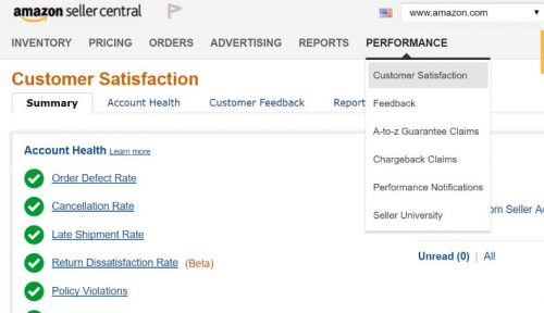 AmazonのOrder Defect Rate(ODR = 注文不良率)解説画像