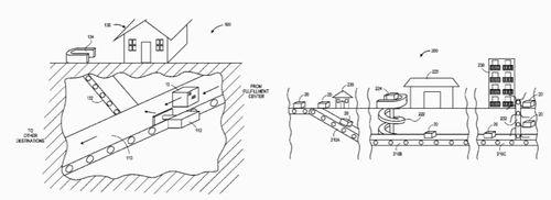 Amazonが、地下トンネルシステム特許取得